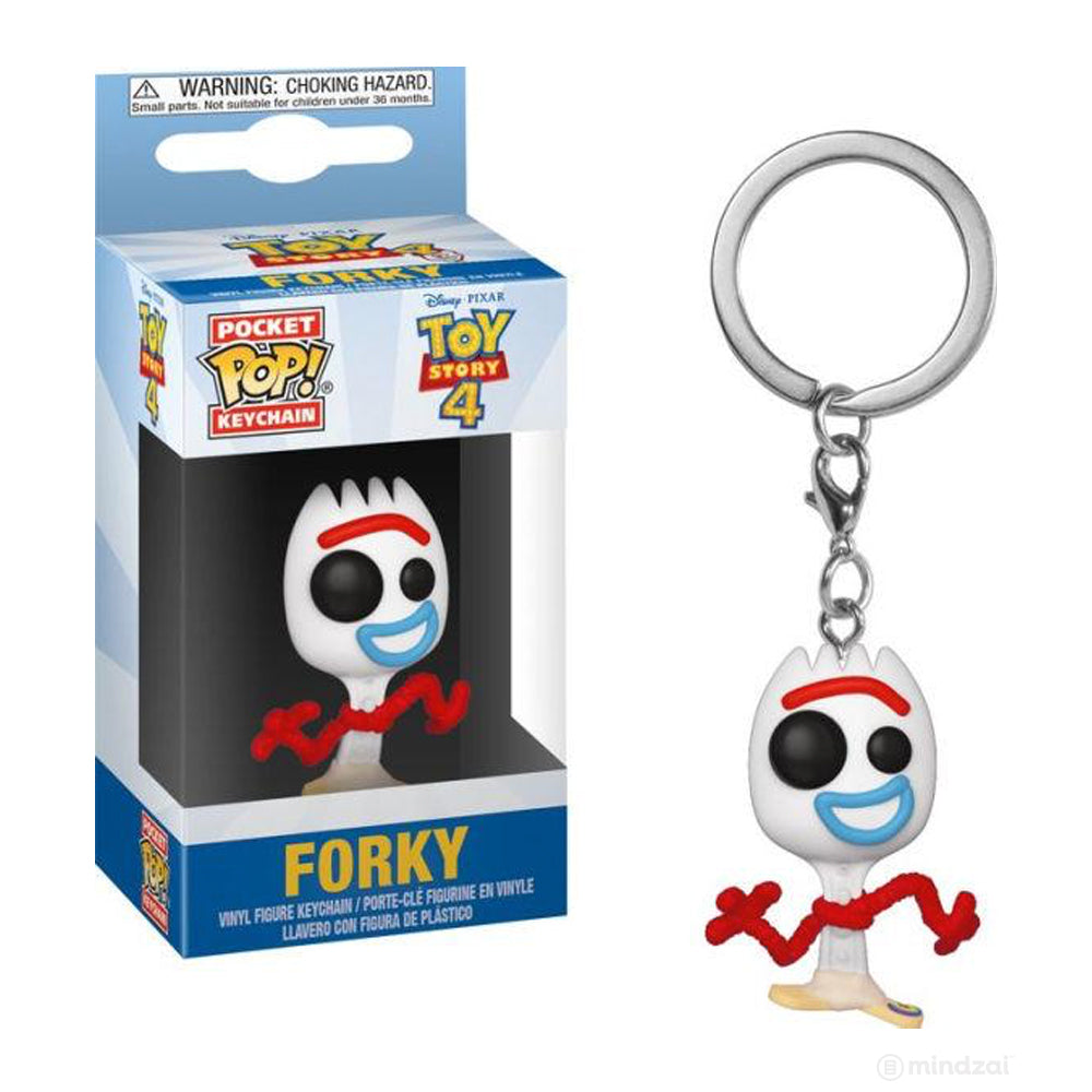 Disney Pixar Toy Story 4 Forky Pocket Pop Keychain by Funko