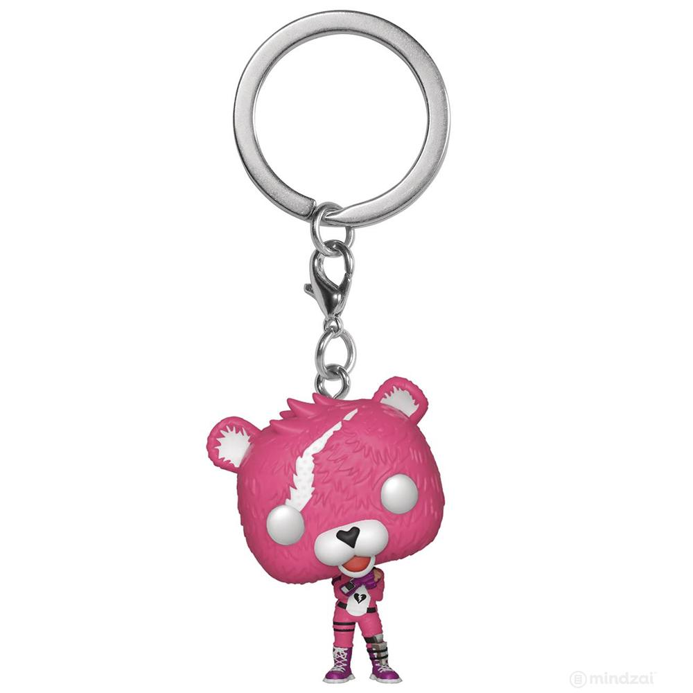 Fortnite: Cuddle Team Leader Pocket Pop Keychain by Funko - Pre-order