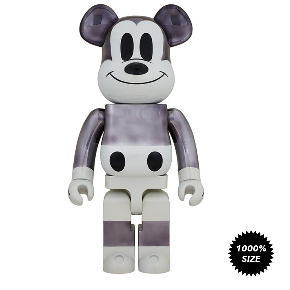Fragment Design Mickey Mouse The True Original NYC Exhibition Exclusive 1000% Bearbrick  by Medicom Toy x Disney