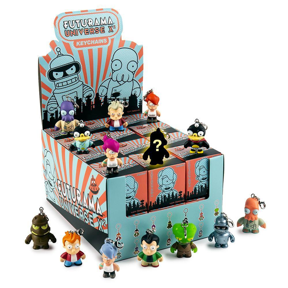 Futurama Universe X 2 Blind Box Keychain Series by Kidrobot