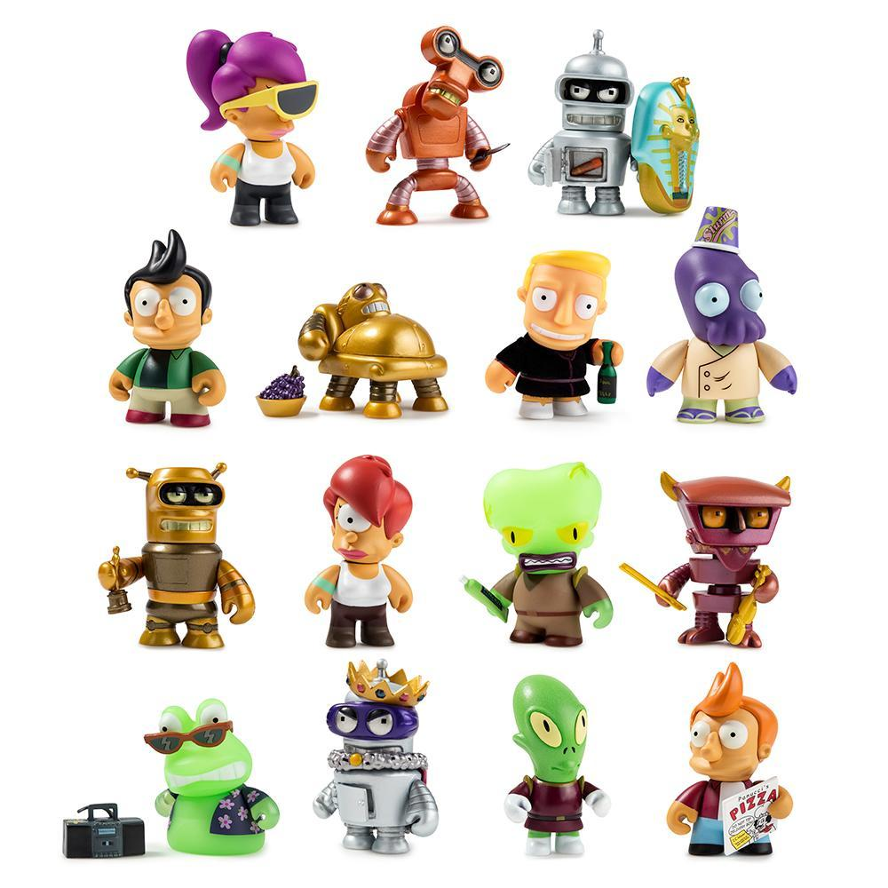 Futurama Universe X Blind Box Mini Series by Kidrobot