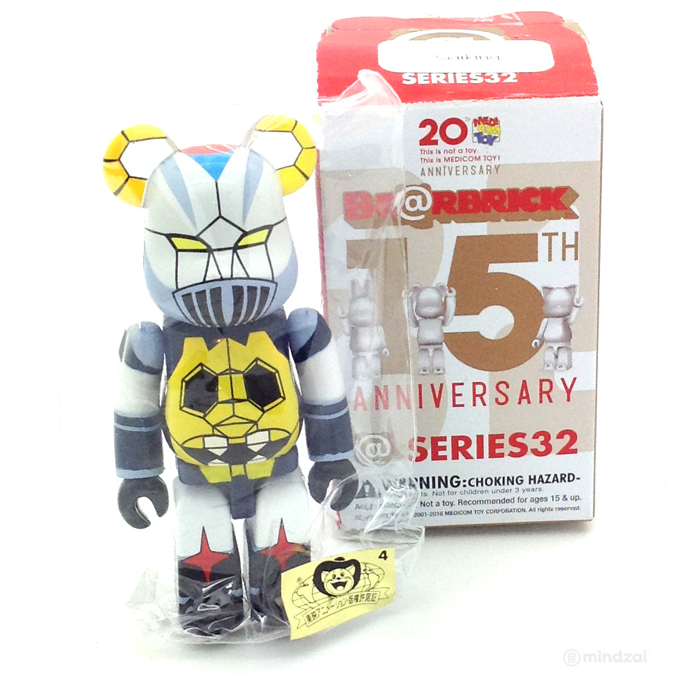 57575cd1 Bearbrick Series 32 - Gaiking (Secret) (1/192) - Mindzai
