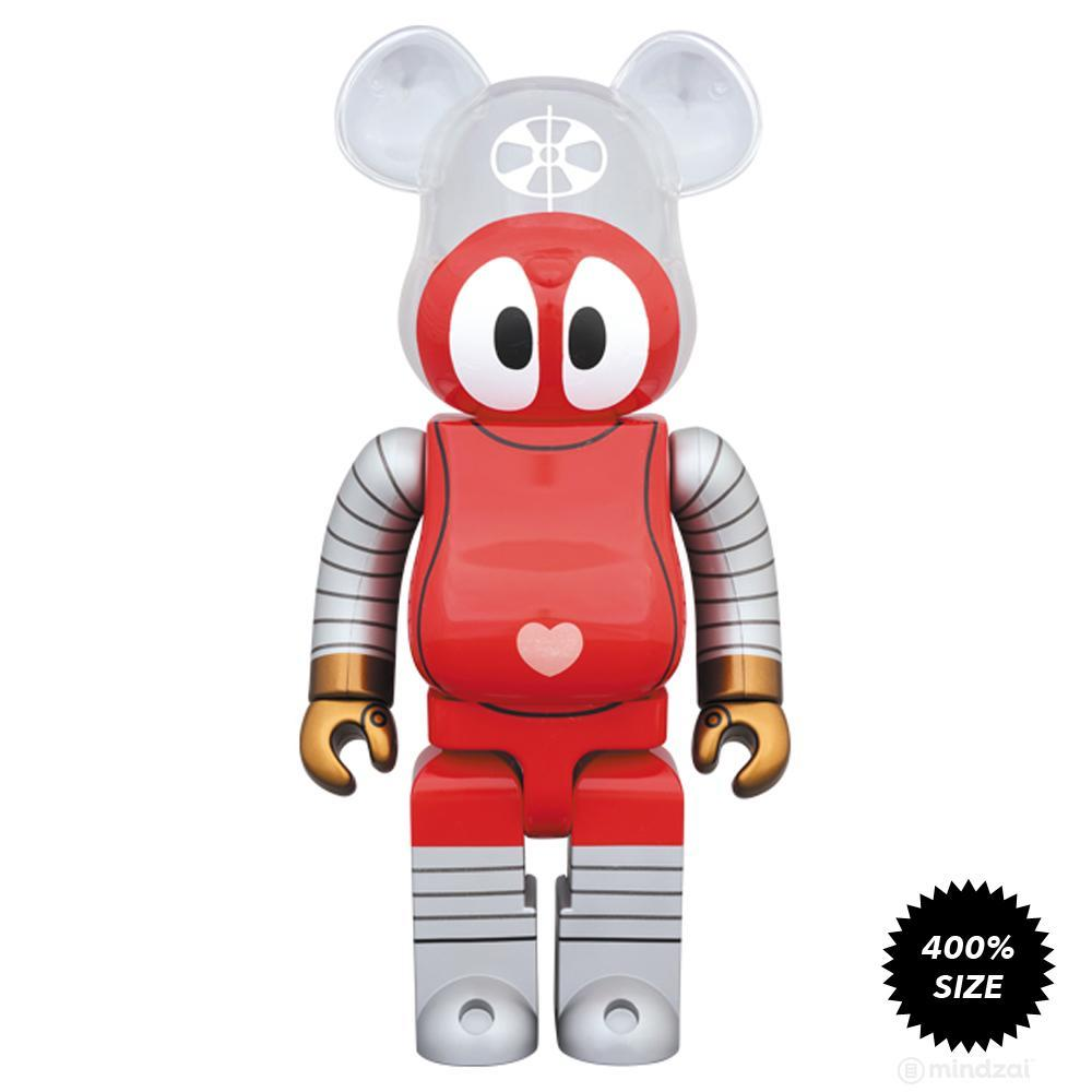 Ganbare!! Robocon 400% Bearbrick by Medicom