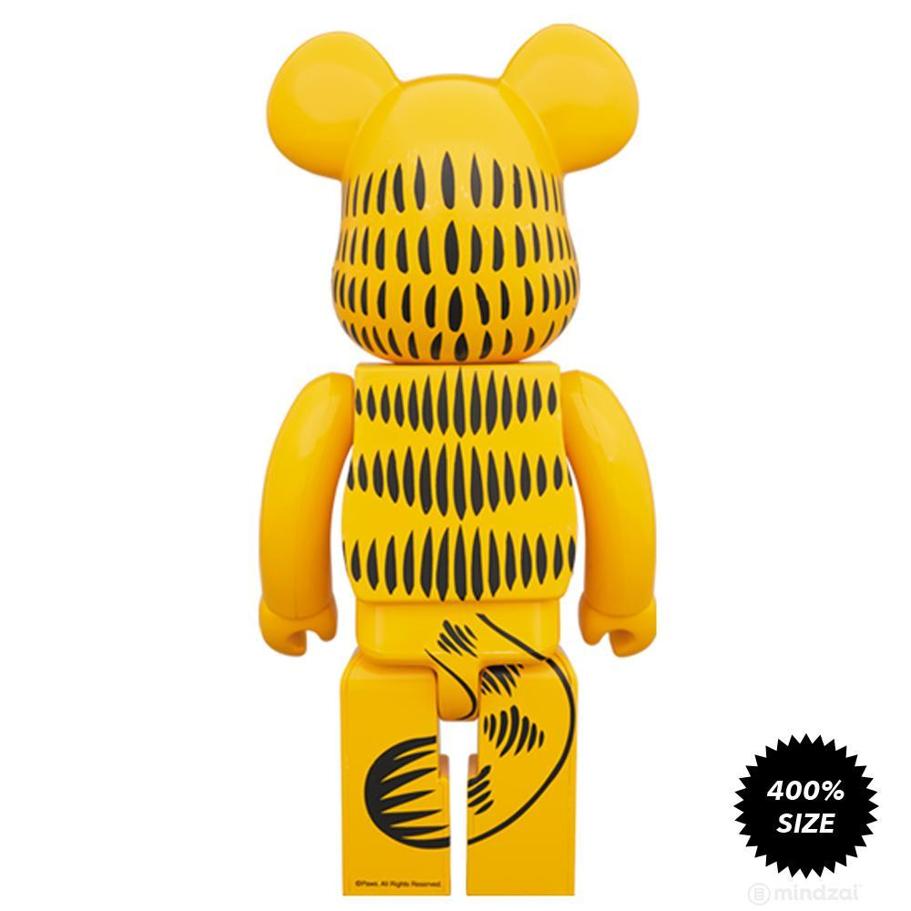 Garfield 400% Bearbrick by Medicom Toy