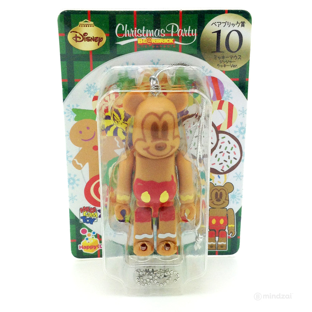 Disney Bearbrick Unbreakable - Happy Kuji #10 - Mickey Mouse Ginger Cookie