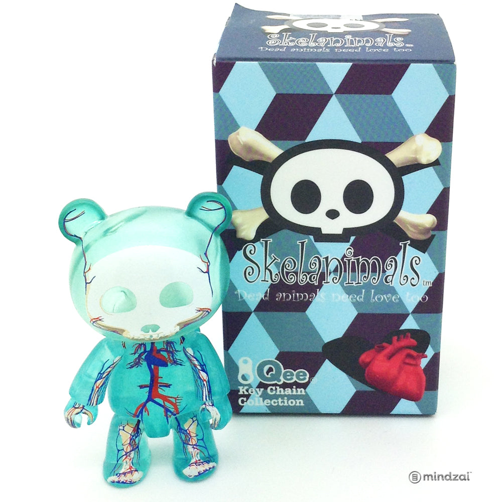 Skelanimals Qee - Glacier Blue (Jason Freeny)