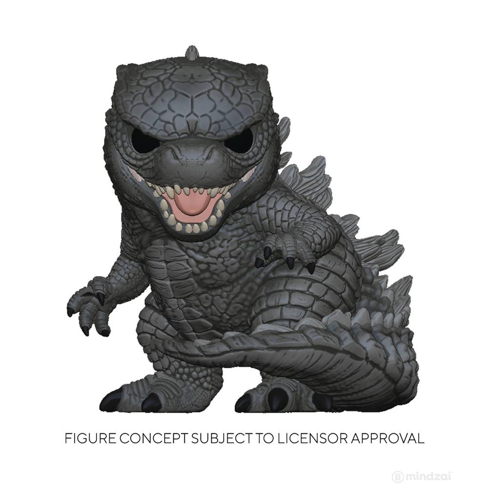 Godzilla vs Kong: Godzilla 10-inch POP Toy Figure by Funko