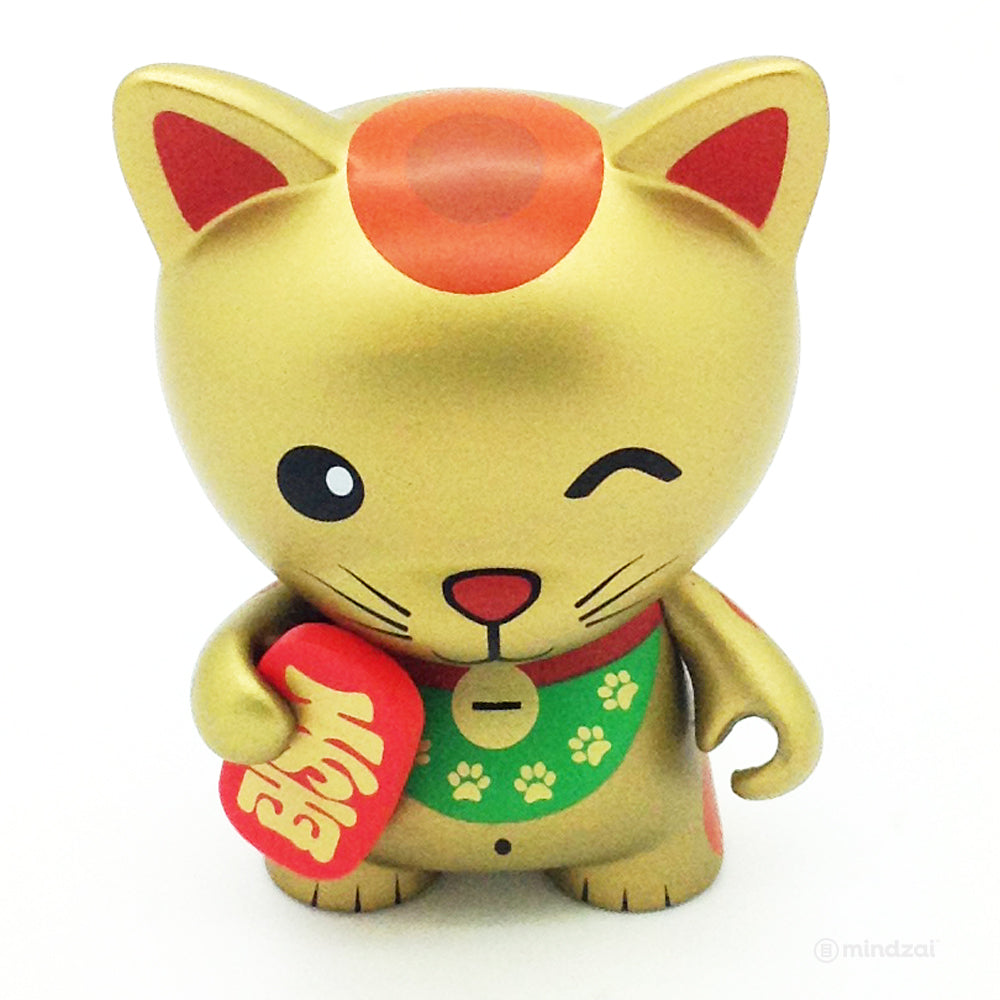 Tricky Cats Mini Series - Gold Lucky Cat (Chase)