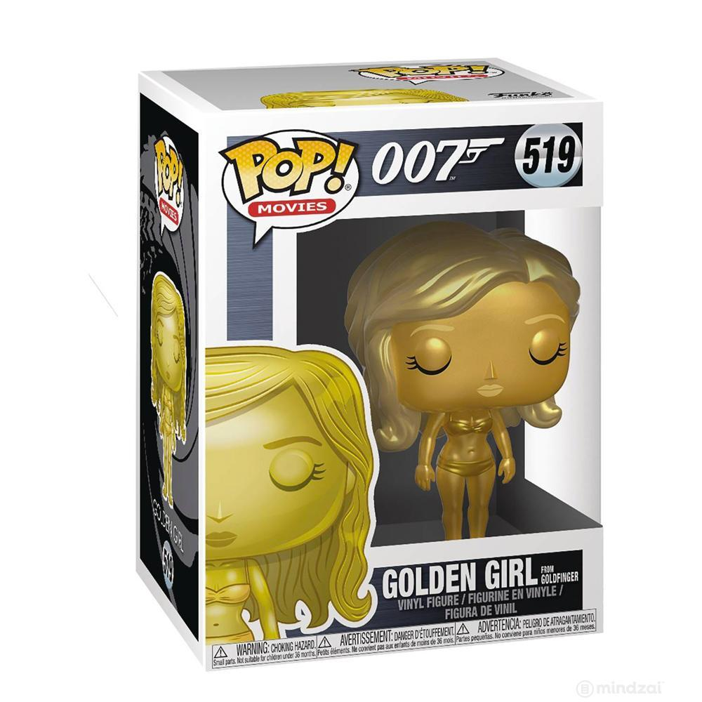 James Bond Golden Girl Pop! Vinyl Figure by Funko