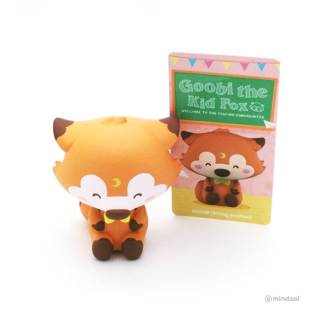 Goobi The Kid Fox Blind Box Series Toy by OKLuna x POP MART - Goobi (Sitting Position)