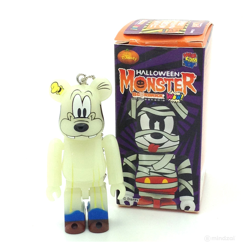 Disney WOW! x Halloween Monster Bearbrick  - Goofy (GID) Version 100% Size