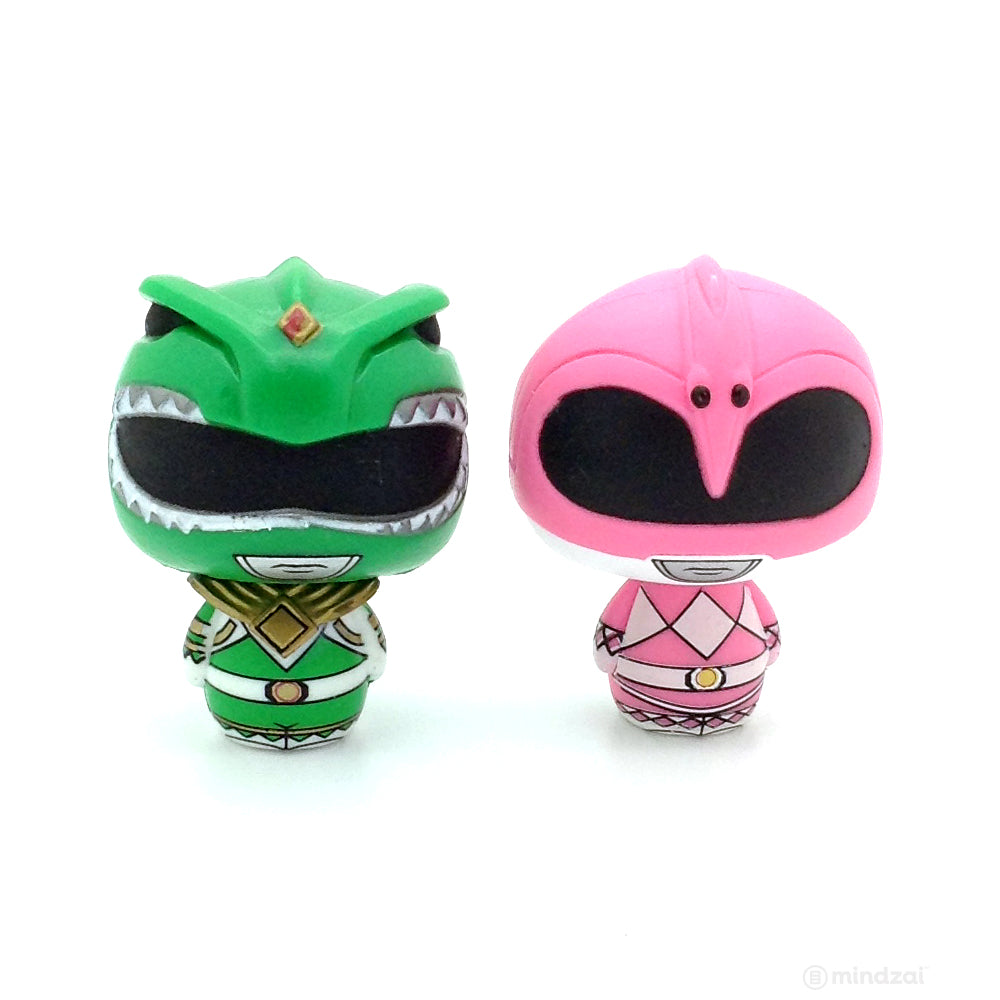 Power Rangers Pint Sized Heroes Blind Bag - Green and Pink Ranger (Set of 2)
