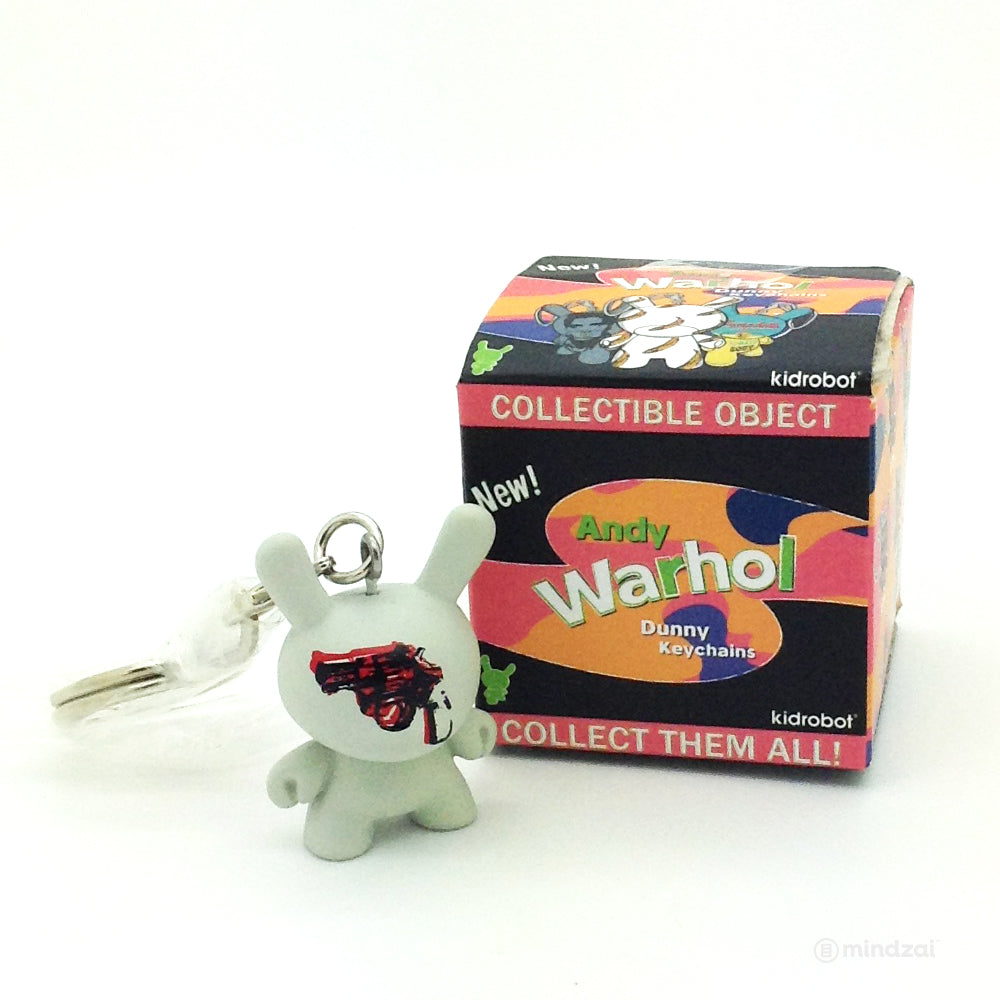 Andy Warhol Dunny Blind Box Keychain Series - Gun 1981