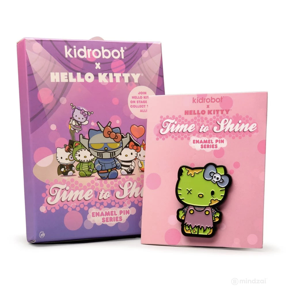 Hello Kitty Time To Shine Blind Box Enamel Pin by Sanrio x Kidrobot