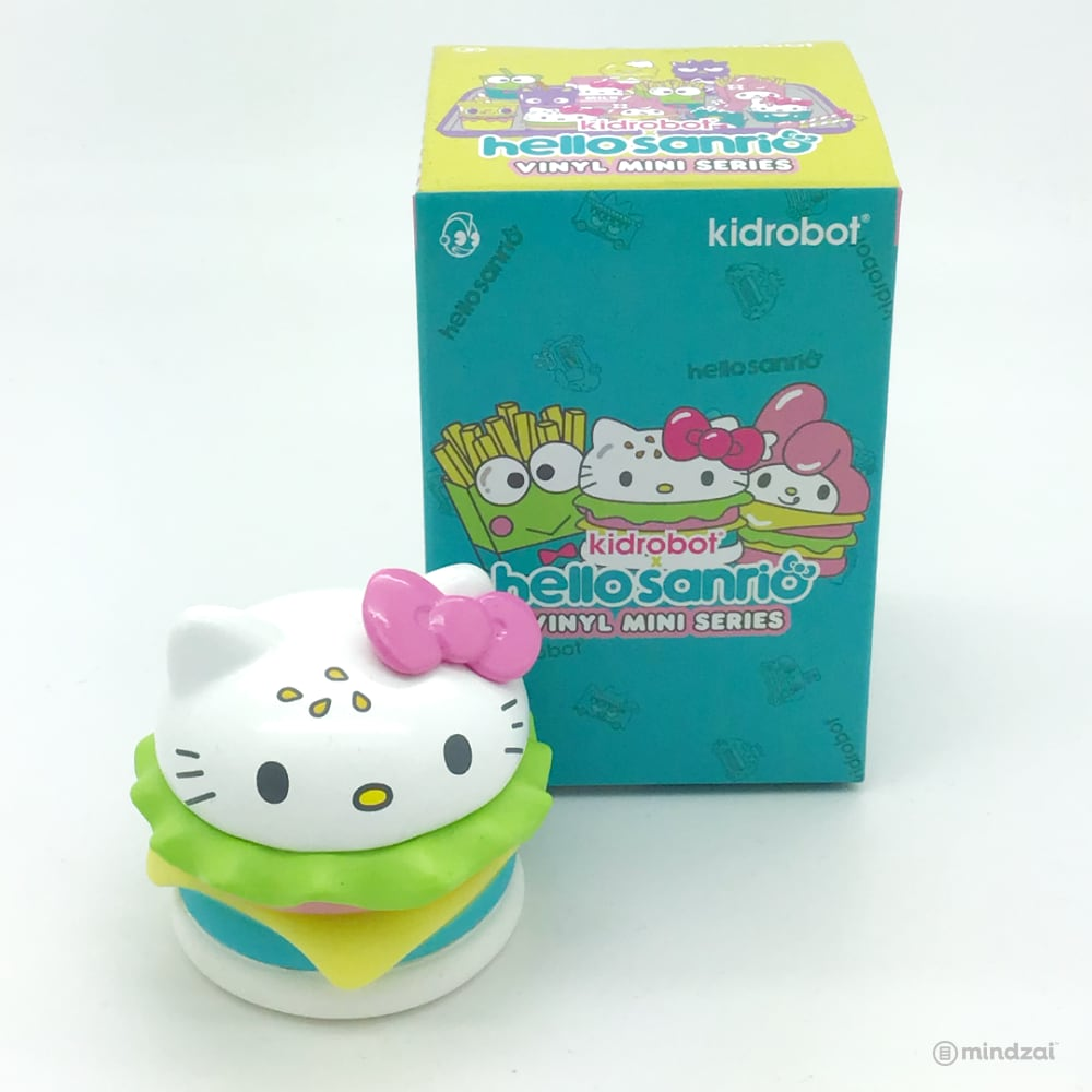 Hello Sanrio Vinyl Blind Box by Kidrobot x Sanrio - Hello Kitty Burger