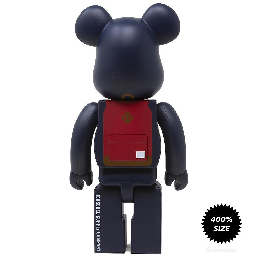 Herschel Supply 400% Bearbrick by Medicom Toy