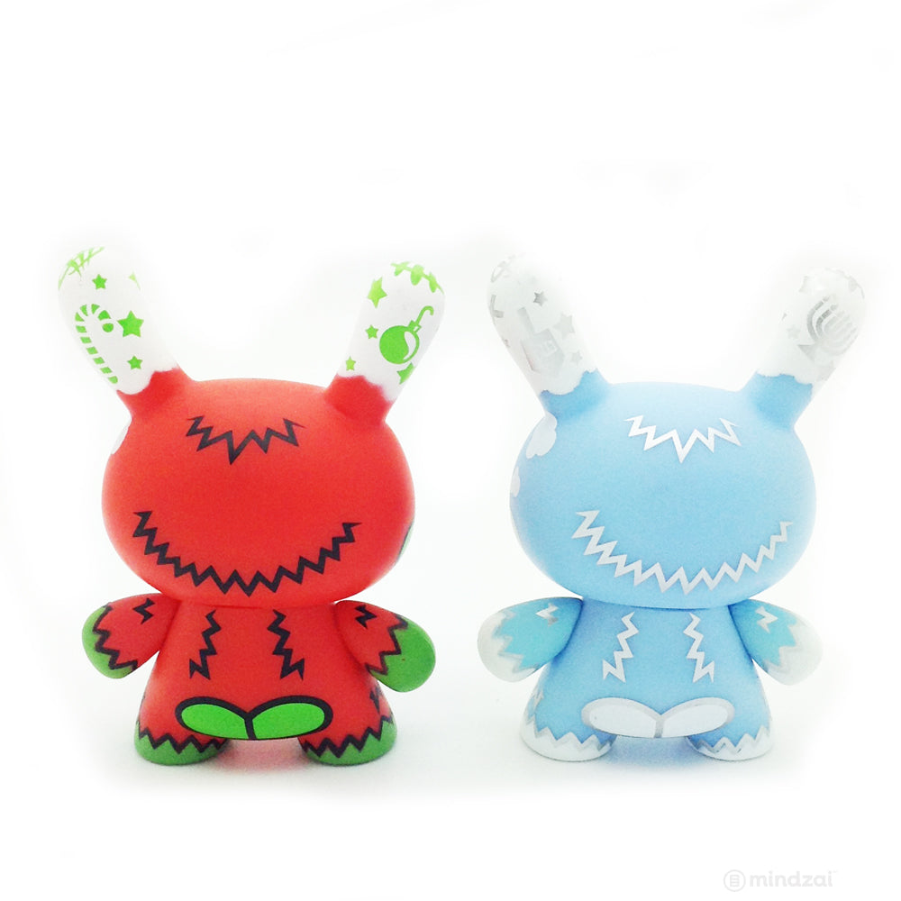 HolidAPE Christmas Dunny and Chanukah Dunny (Set of 2) (MAD)