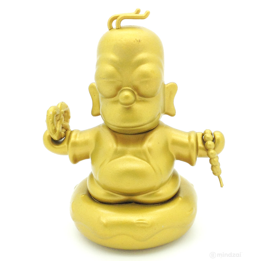 Homer Buddha 3-Inch Gold Edition by The Simpsons x Kidrobot