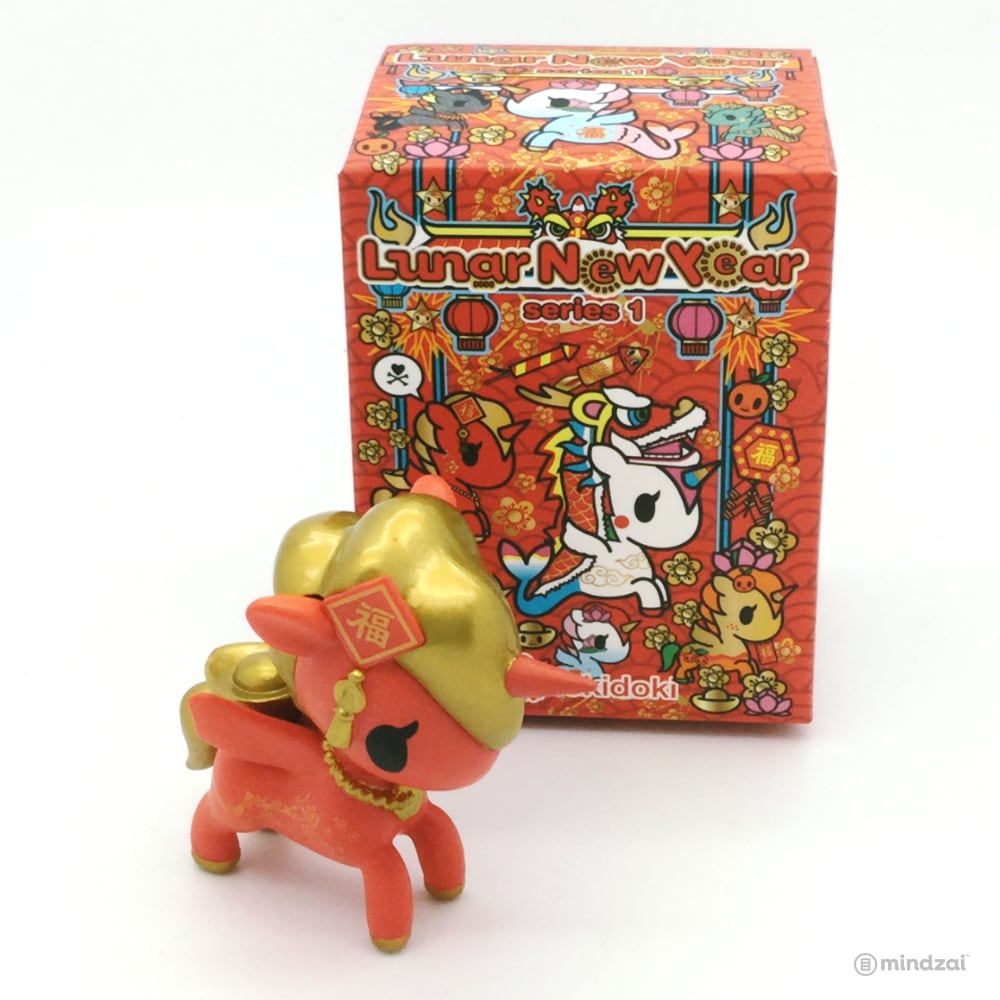 Lunar New Year Unicorno Series One Blind Box by Tokidoki - Hong Bao