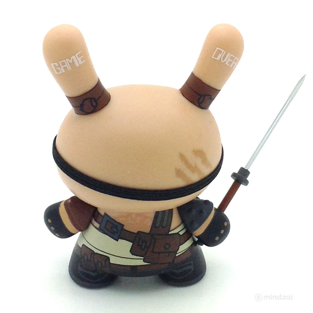 Art of War Dunny Series - Beardie McBeardsalot Dunny (Huck Gee)