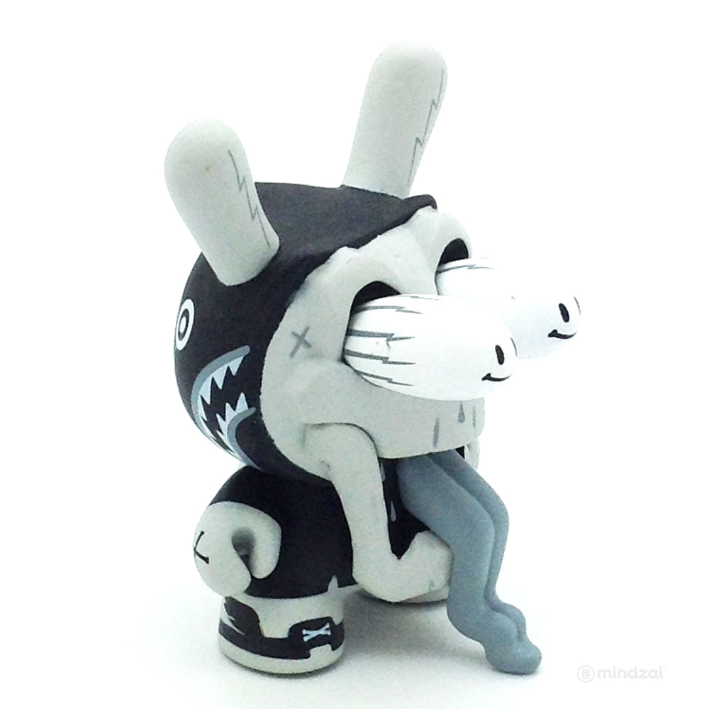 The Wild Ones Dunny Blind Box Mini Series - Hype Death Then Black and White (Chase)