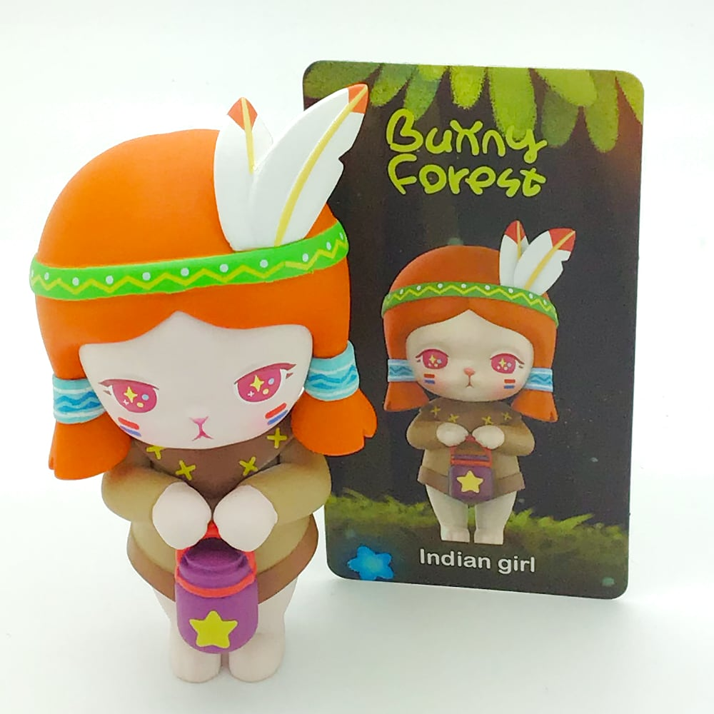 Bunny Forest Blind Box Toy Series by POP MART - Indian Girl