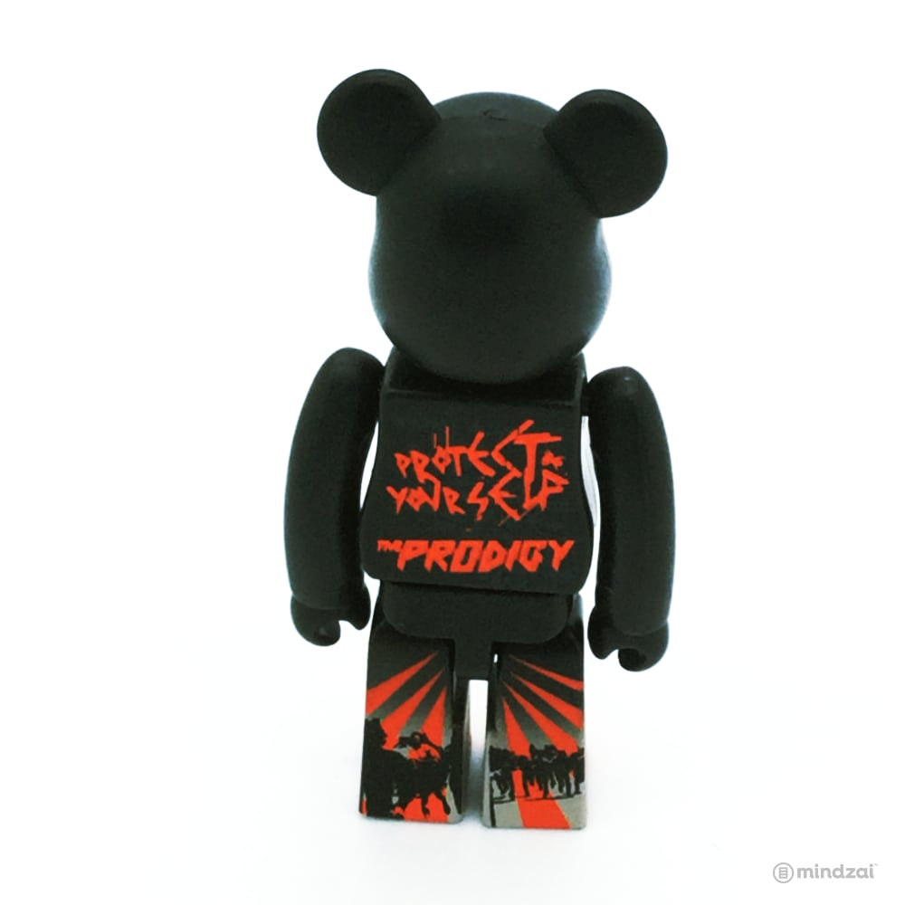 "Bearbrick Series 21 - Prodigy Album ""Invaders Must Die"" (Pattern)"