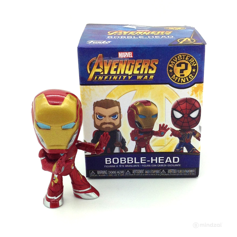 Avengers: Infinity War Bobblehead Mystery Minis Blind Box by Funko x Marvel - Iron Man