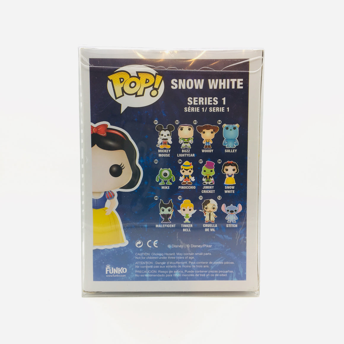 Disney Snow White Pop Toy Figure #08 Vaulted by Funko