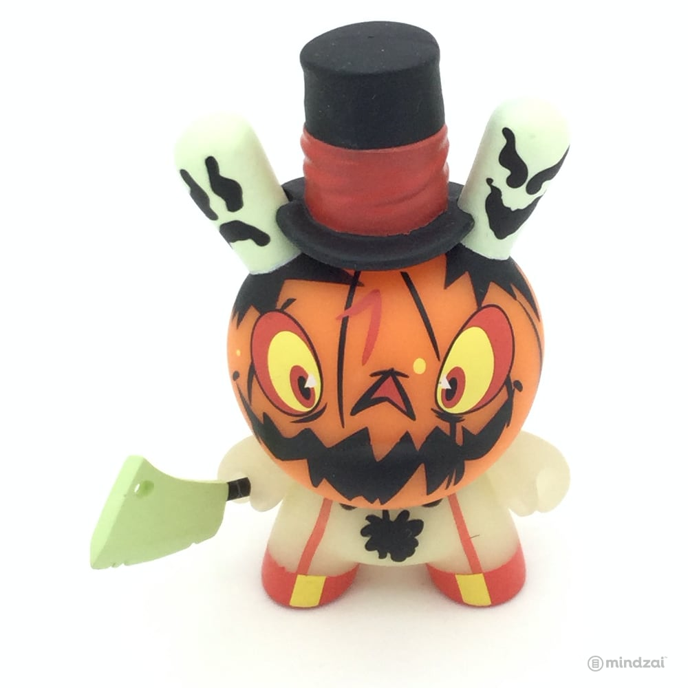 The 13 Dunny Series - Jack O' Lantern Dunny # 7