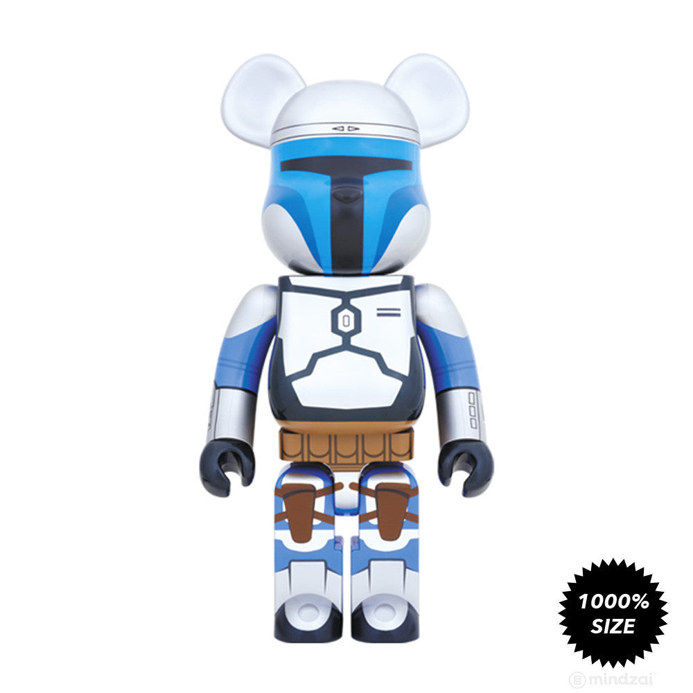 Jango Fett Bearbrick 1000% by Medicom Toy x Star Wars