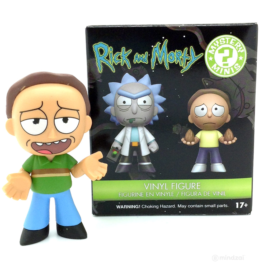 Funko Mystery Minis Rick and Morty JERRY 1//12 New