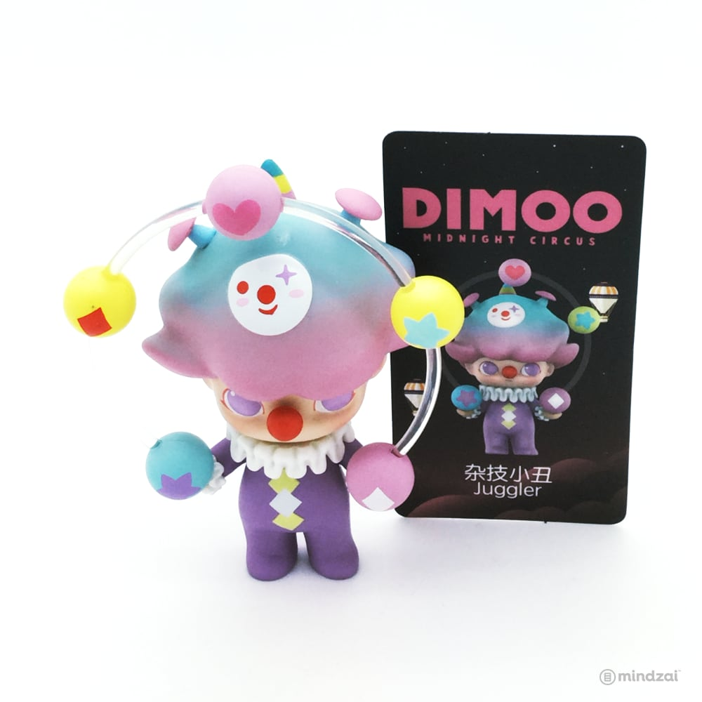 Dimoo Midnight Circus Blind Box Series by Ayan Tang x POP MART - Juggler