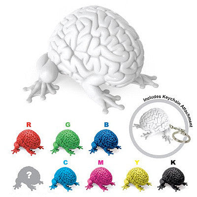 Jumping Brain Keychain by Emilio Garcia - Single Blind Box - Mindzai