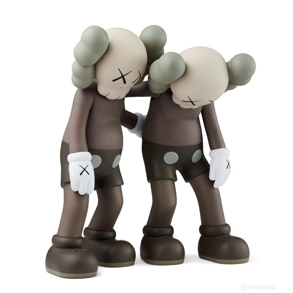 Kaws Along The Way Brown Open Edition by KAWS x Medicom Toy