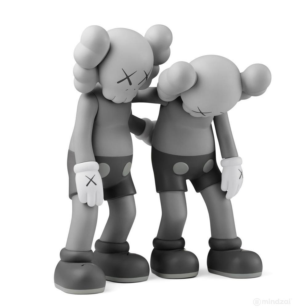Kaws Along The Way Grey Open Edition by KAWS x Medicom Toy