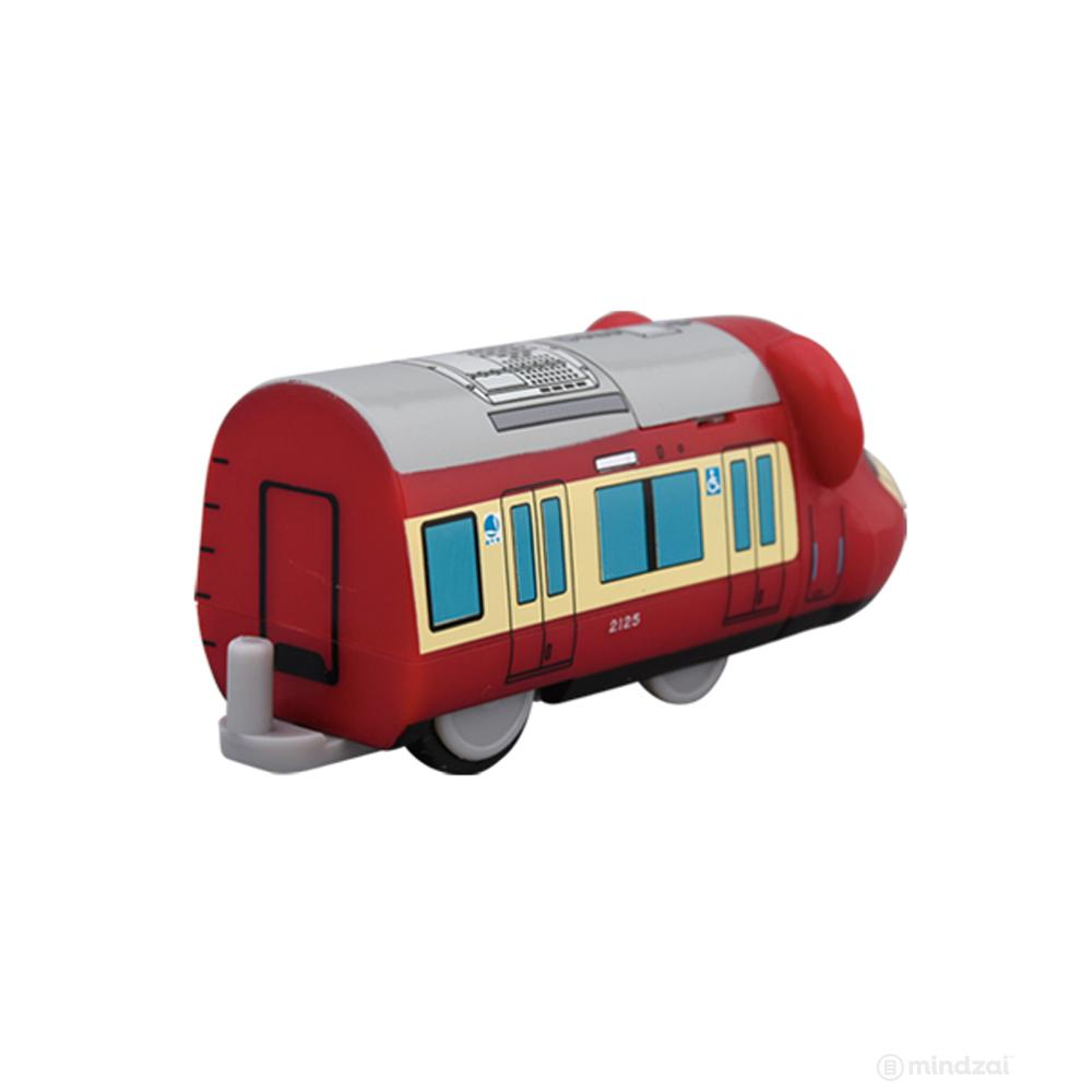 Keikyu 2100 Series Bearbrick Train by Medicom Toy