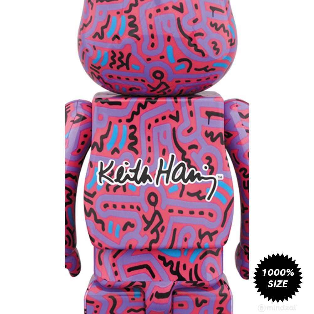 Keith Haring #2 1000% Bearbrick by Medicom Toy