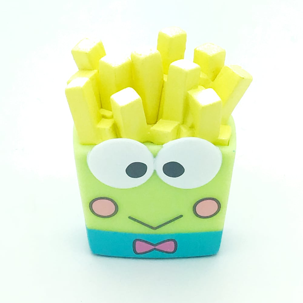 Hello Sanrio Vinyl Blind Box by Kidrobot x Sanrio - Keroppi Fries