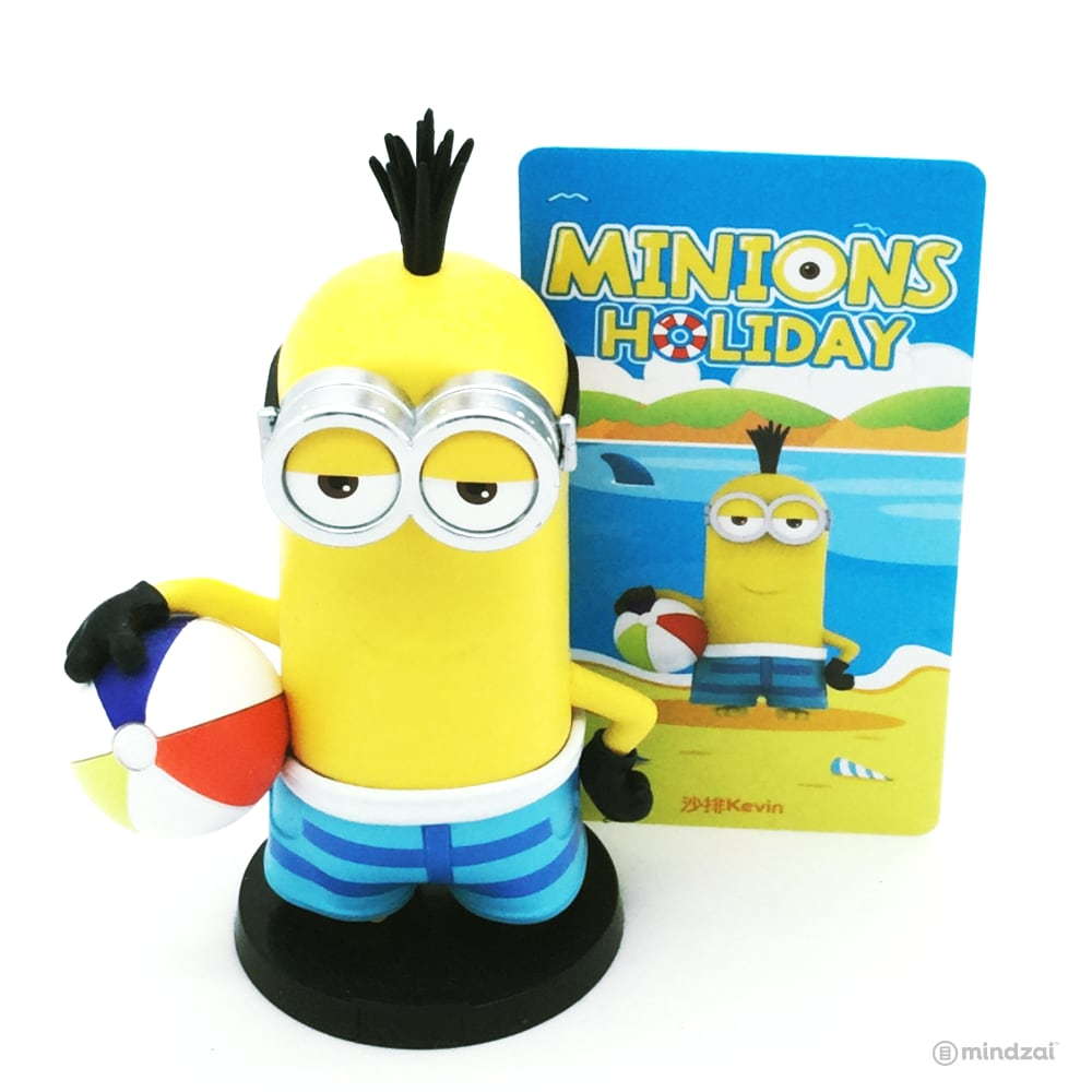 Minions Holiday Blind Box Series by POP MART - Kevin with Beach Ball