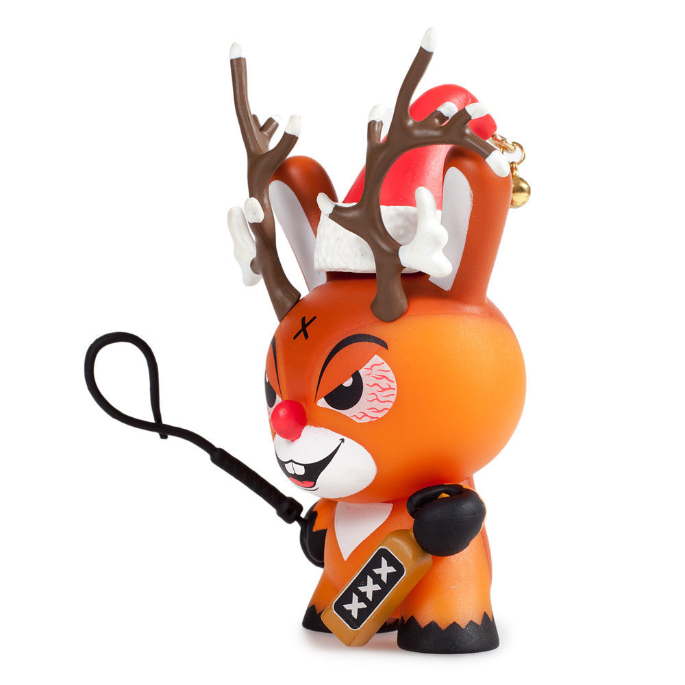 Rise of Rudolph Christmas Dunny by Kozik x Kidrobot - Mindzai  - 1