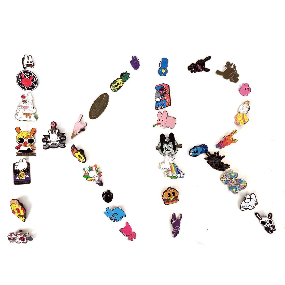 Pinning It and Winning It Blind Box Pins by Kidrobot - Pre-order - Mindzai  - 1