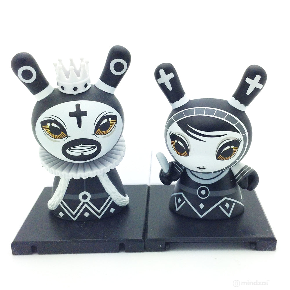 Shah Mat Dunny Chess Mini Series - King (Black) and Pawn (Set of 2)