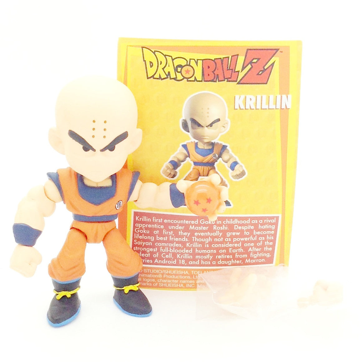 Dragon Ball Z Action Vinyls Blind Box Minis - Krillin