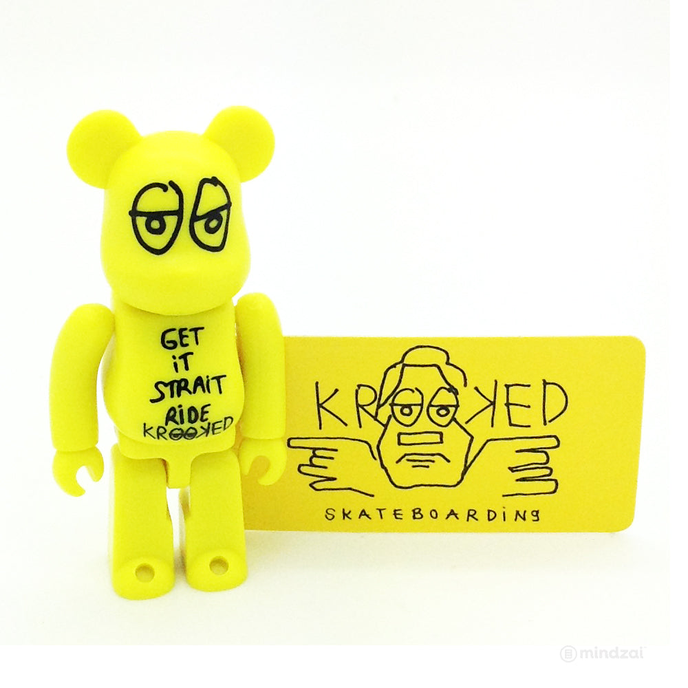 Bearbrick Series 20 - Krooked Skateboarding (Artist)