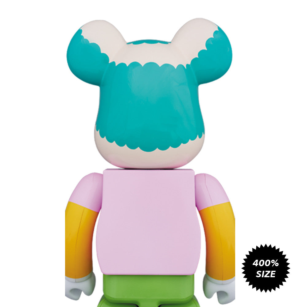 Krusty The Clown 400% Bearbrick - Pre-Order - Mindzai  - 1