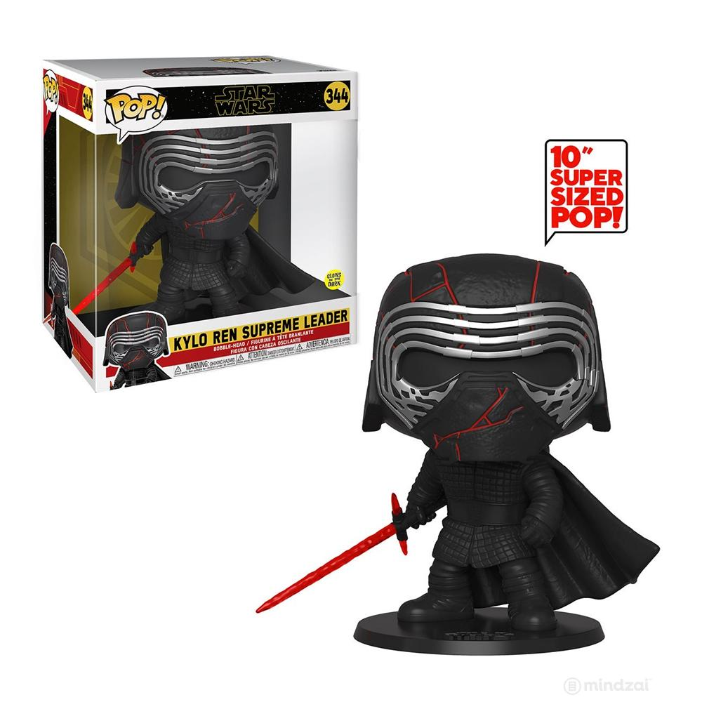 "Kylo Ren Glow in the Dark Episode 9: The Rise of Skywalker 10"" POP! Vinyl Figure by Funko"