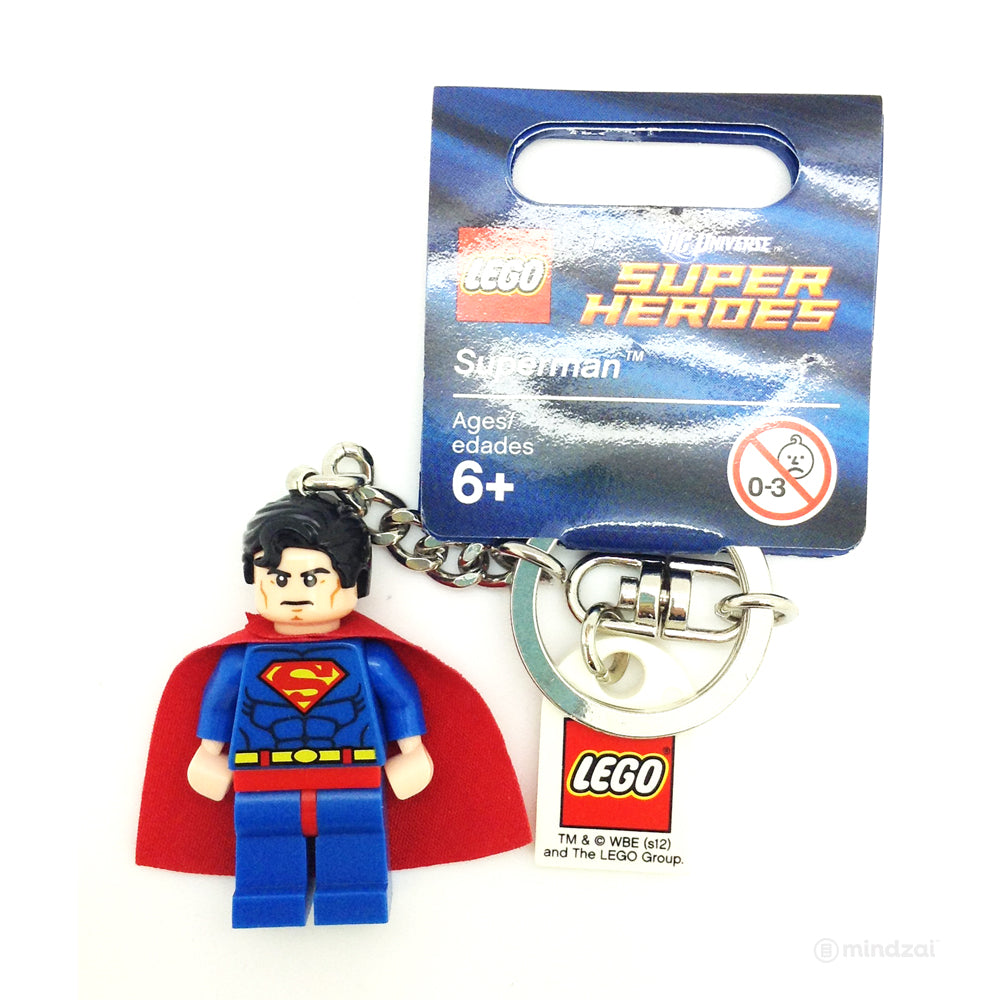 Lego Mini Figure Keychain - Superman