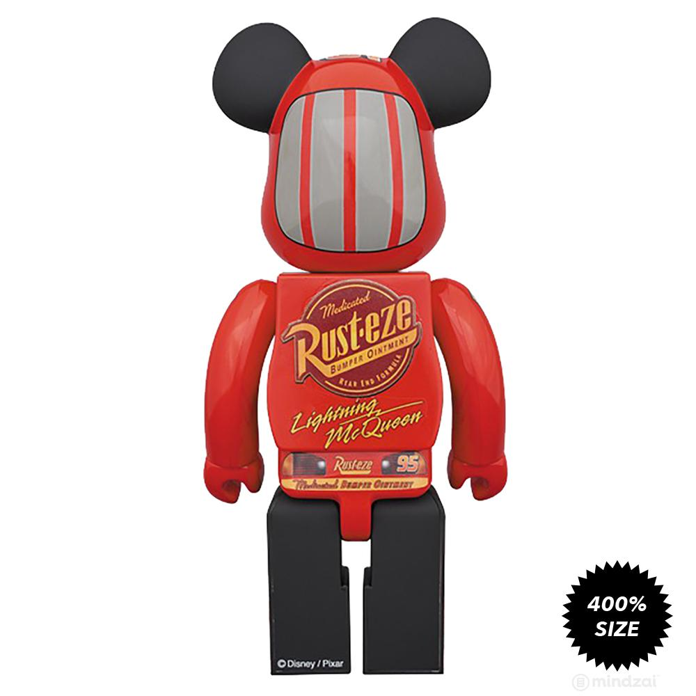 Lightning McQueen 400% Bearbrick by Medicom Toy - Pre-order