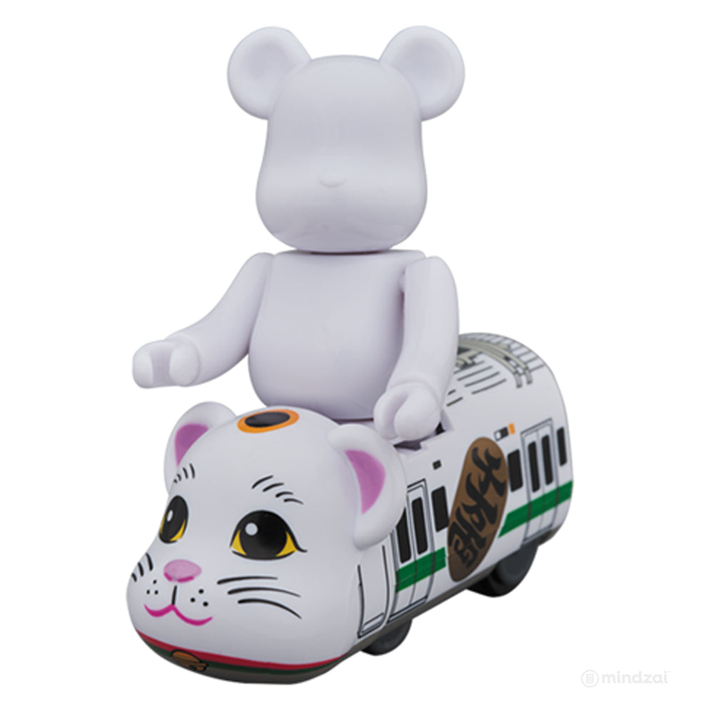 Lucky Cat Bearbrick Train by Medicom Toy